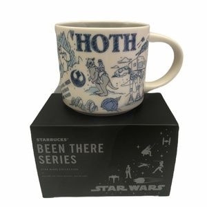 STARBUCKS Been There Series Disney STAR WARS HOTH